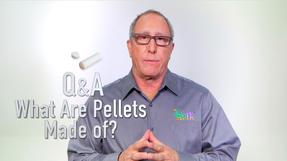 What are pellets made of?